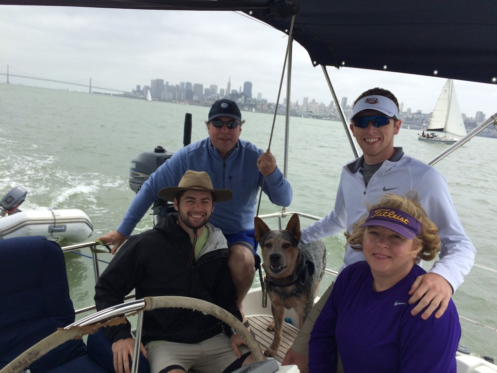 sailing san francisco bay charter boat private sailing charter