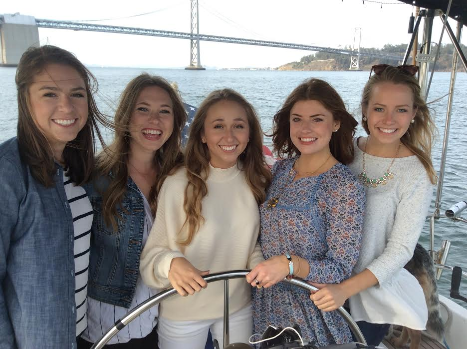 This saturday Katie and her crew of friends rocked out and had a legit dance party while sailing on beautiful san francisco bay.