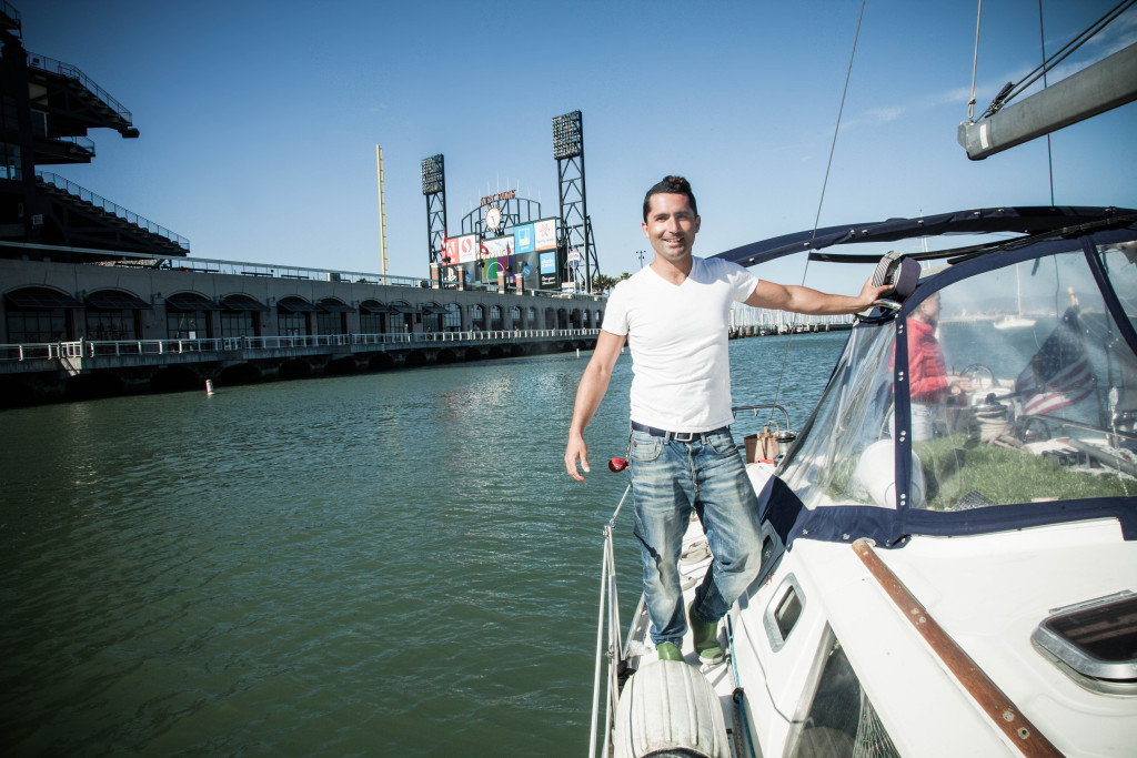 captain san francisco mccovey cove sailing on sf bay private charter