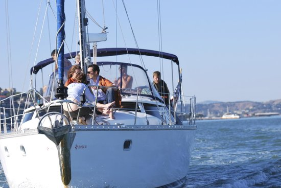 sailing vessel matador on sf bay