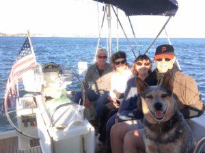 captain san francisco sailing charter action today