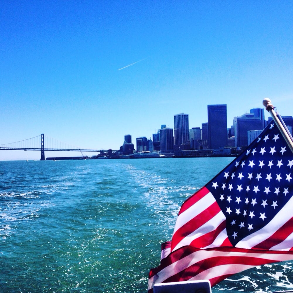 this past weekend we had perfect sailing charter weather for cruising san francisco bay, we accessed angel island, tiburon, sausalito.