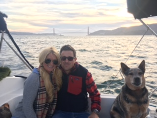 Ashley and brent get engaged on a private sailboat charter in sf bay and showed how amazing sailing with captain san francisco can be.