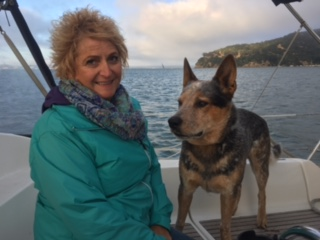 this past weekend captain josh waldman took out an australian couple on a private sailboat charter in sf bay and we took photos played with brody dog, had  a cheese platter, and had  a blast chatting about travel stories. thanks for coming out on the yacht!