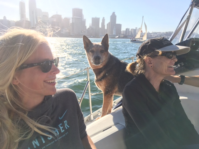 This past weekend captain josh waldman and brody had the pleasure of taking a group out for a private sailing charter in san francisco and we shared travel stories and talked chemistry over lunch with a stop at mccovey cove for a sf giants game.